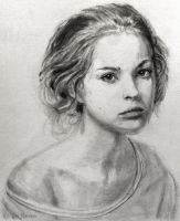 Ksenia in Graphite #2 by SHParsons
