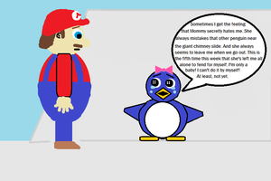 Mario 64 Baby Penguin (in a different light) 5 by CJO1234