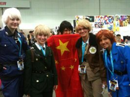 Anime Expo 2012 Hetalia by Fainting-Ostrich