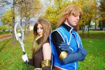 Tales of the Abyss: Tear and Jade cosplay by Eloare