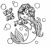 Tap Me Memphis Lineart by Anasatcia