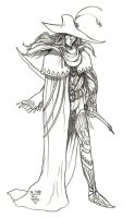 Daily Sketches Vampire Hunter D by fedde