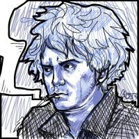 Dylan Moran in Blue by cadet