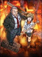 Silent Hill njay color fun by SpicerColor
