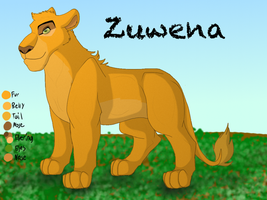 Zuwena, Wearer of Many Masks by Jayie-The-Hufflepuff