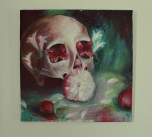 Redgreen skull by ahsr