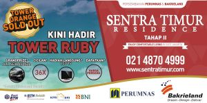 Billboard Sentra Timur Residence by jumidsgn