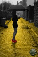 Follow the yellow brick road by deejaywill