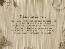 Disclaimer Wallpaper by Twitchy-Kitty-Studio