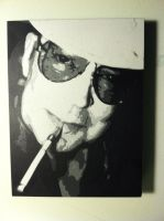 Hunter S. Thompson by 25-o-1