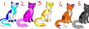 cats adopts open by kittycat-adopts