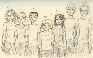 Height Difference Chart by maybelletea