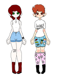 [PENDING] Daisy Duke One Point Auctions by jello-tiger-cat