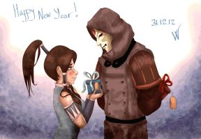Happy new Year, my sweet Amorra! by witchdoctor-cupra