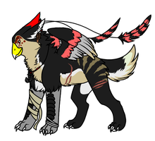 Gryphon Adoptable 1 by lizcat14