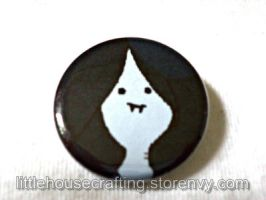 Adventure Time Marceline 1.25 inch Pinback Button by Tharidra
