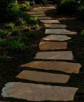 Stone Pathway by gerald-the-mouse3