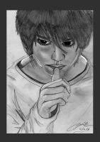 Death Note's L by Shah-Ibrahim