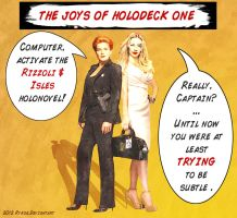 The Joys of Holodeck One, VI by rykoe