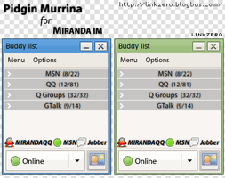 Pidgin Murrina for Miranda IM by SerLinkzero