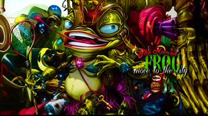 The Nomad Frog by Camus97