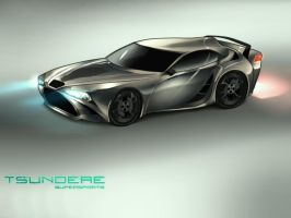 Tsundere Supersports Concept by Moetalcore