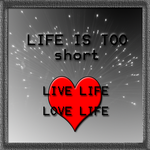 Life is too short by MEGAB00ST