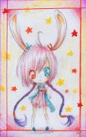 Pink bunny by yozhik8D