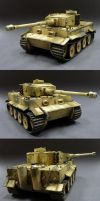 Tiger I Italy by Plastichuan