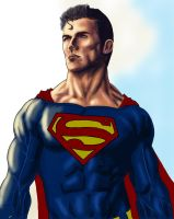Superman WIP by wraith2099