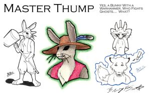 Master Thump by crazed-fangirl
