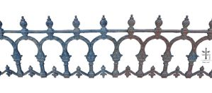 Iron Fence by TheoGothStock