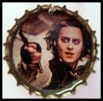Sweeny Todd Bottle Cap Charm by VixenVendetta
