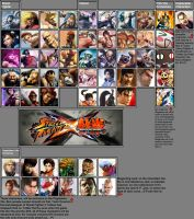 Official SFxT Roster as of 2-24-12 by xXKyraRosalesXx