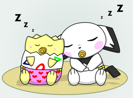 Naptime by pichu90