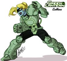 Green Lantern Callies by eisu