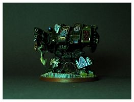 Dark Angels' Dreadnought by DorianM