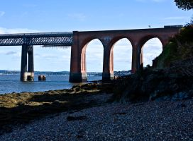 Tay Railway Bridge I by DundeePhotographics