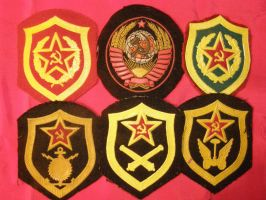 Chevrons - Soviet Army by Mihenator
