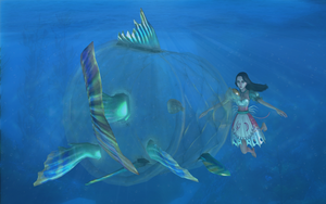Alice and the Music Fish by tombraider4ever