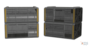 ME3 Shipping Crates for XPS by Just-Jasper