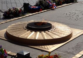 Close up of the Eternal flame by EUtouring