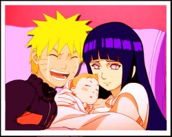 NaruHina Family 6 tears of happiness by 777luck777