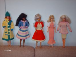 Clothes for Barbie dolls 3 by ToveAnita