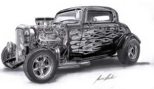 '32 Ford Hot Rod by Lowrider-Girl