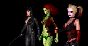 Gotham City Sirens~ by Shamalayah