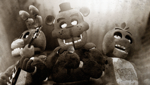 FNAF (No clue why I made this) by LemurfotArt