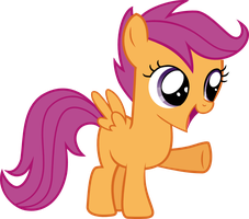 scootaloo vector by Affanita