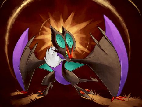 Noivern used Boomburst! by LazyAmphy