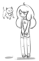 Bee and puppycat by Timmingt0n